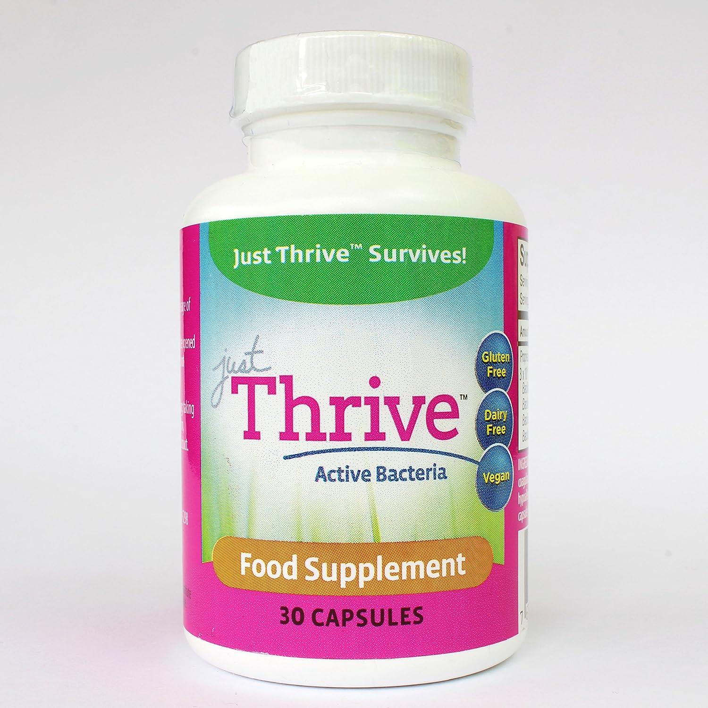 Just Thrive Probiotic 30 Capsules: Amazon.es: Salud y ...