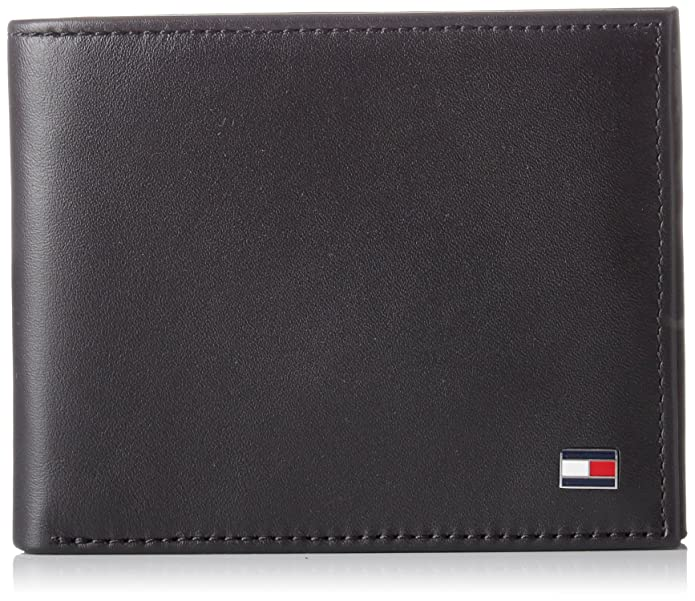 2f8d684f50 Tommy Hilfiger Ho Eton Mini Cc Wallet Keyfob Box - Portafogli Uomo, Noir ( Black), 2x13x20 cm (W x H L): Amazon.it: Scarpe e borse