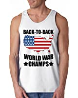 America Back To Back World War Champs Tank Top