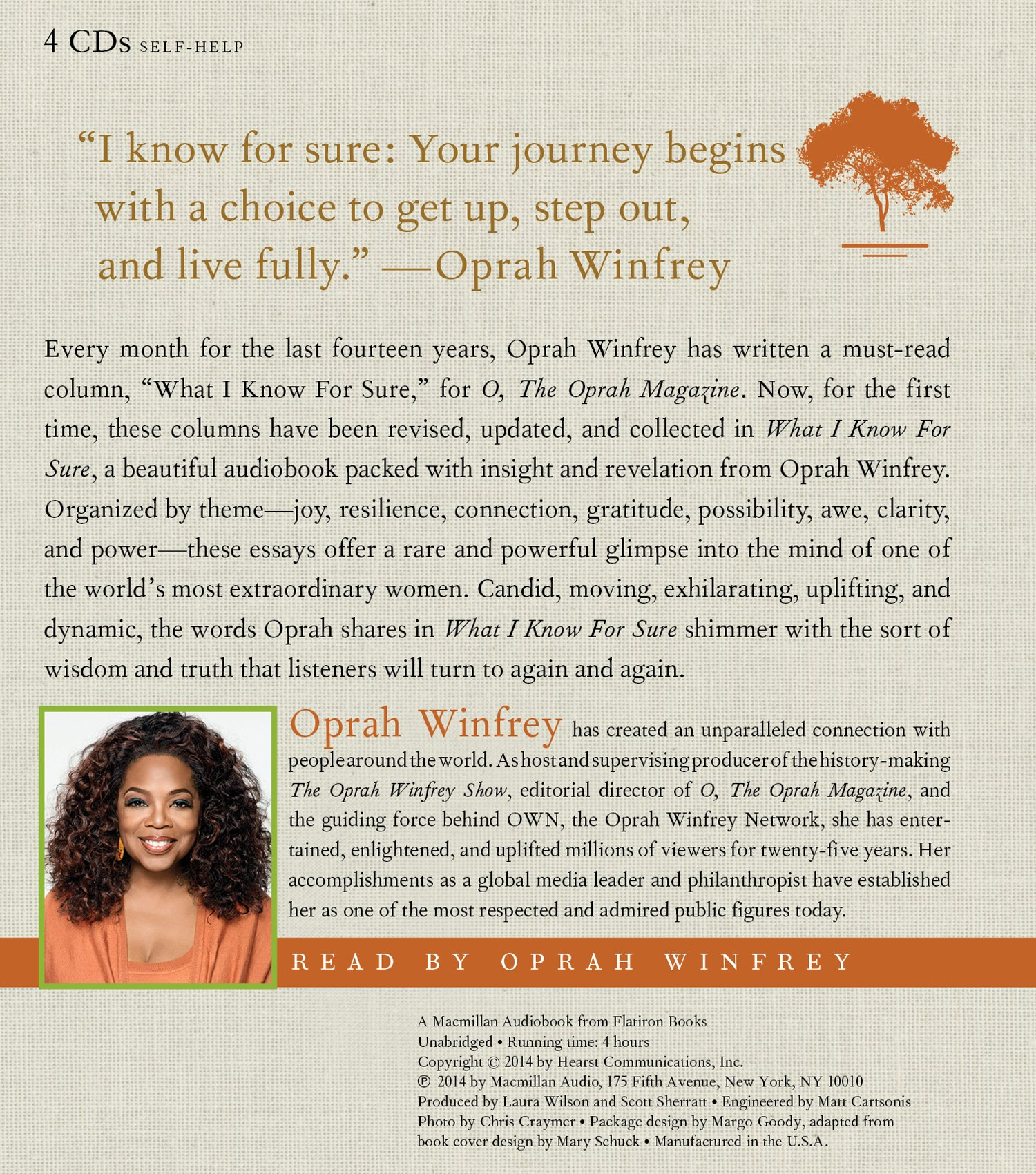 what i know for sure oprah winfrey amazon com books