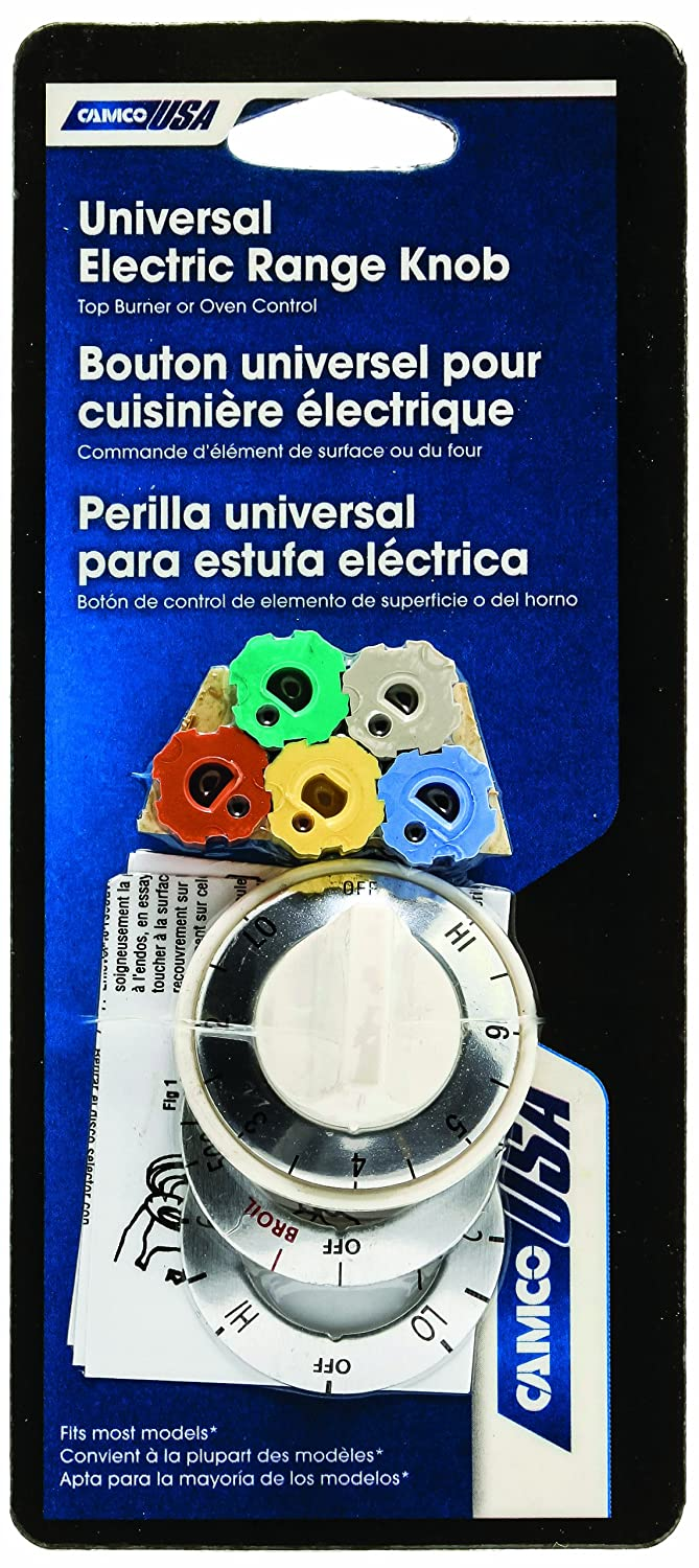 Amazon.com: Camco 00893 White Electric Range Oven Knob Kit: Home Improvement