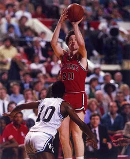 0d5d98aa234 Image Unavailable. Image not available for. Color: CHRIS MULLIN ST. JOHNS  UNIVERSITY RED ...