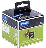 Grandes Etiquettes Dymo LW pour Adresses et Badges Nominatifs, 101mm x 54mm (Cassette de 220), Impression en Noir sur Fond Blanc (S0722430)