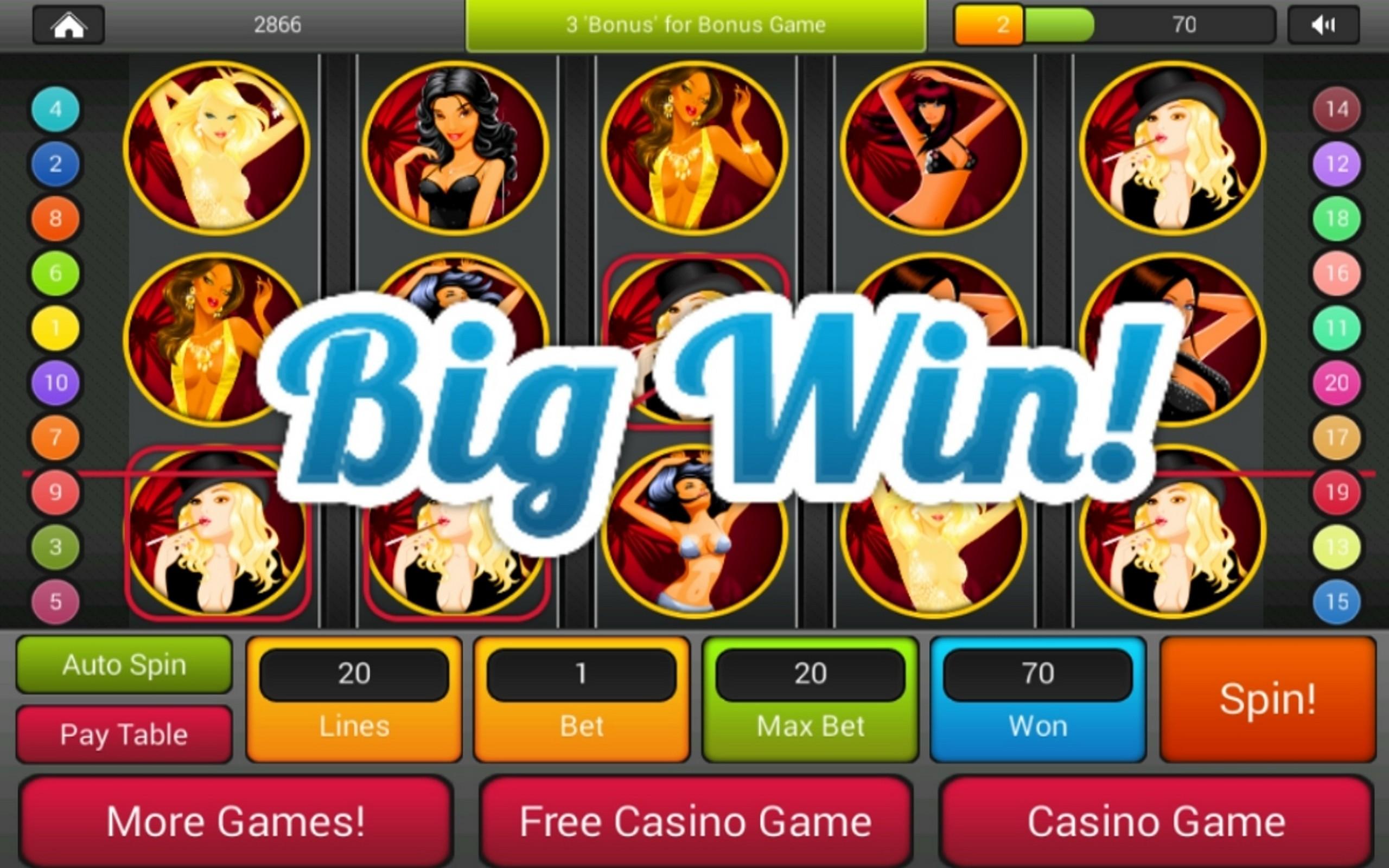 Amazon Com Lucky Sexy Casino Fun Slots Games Best New