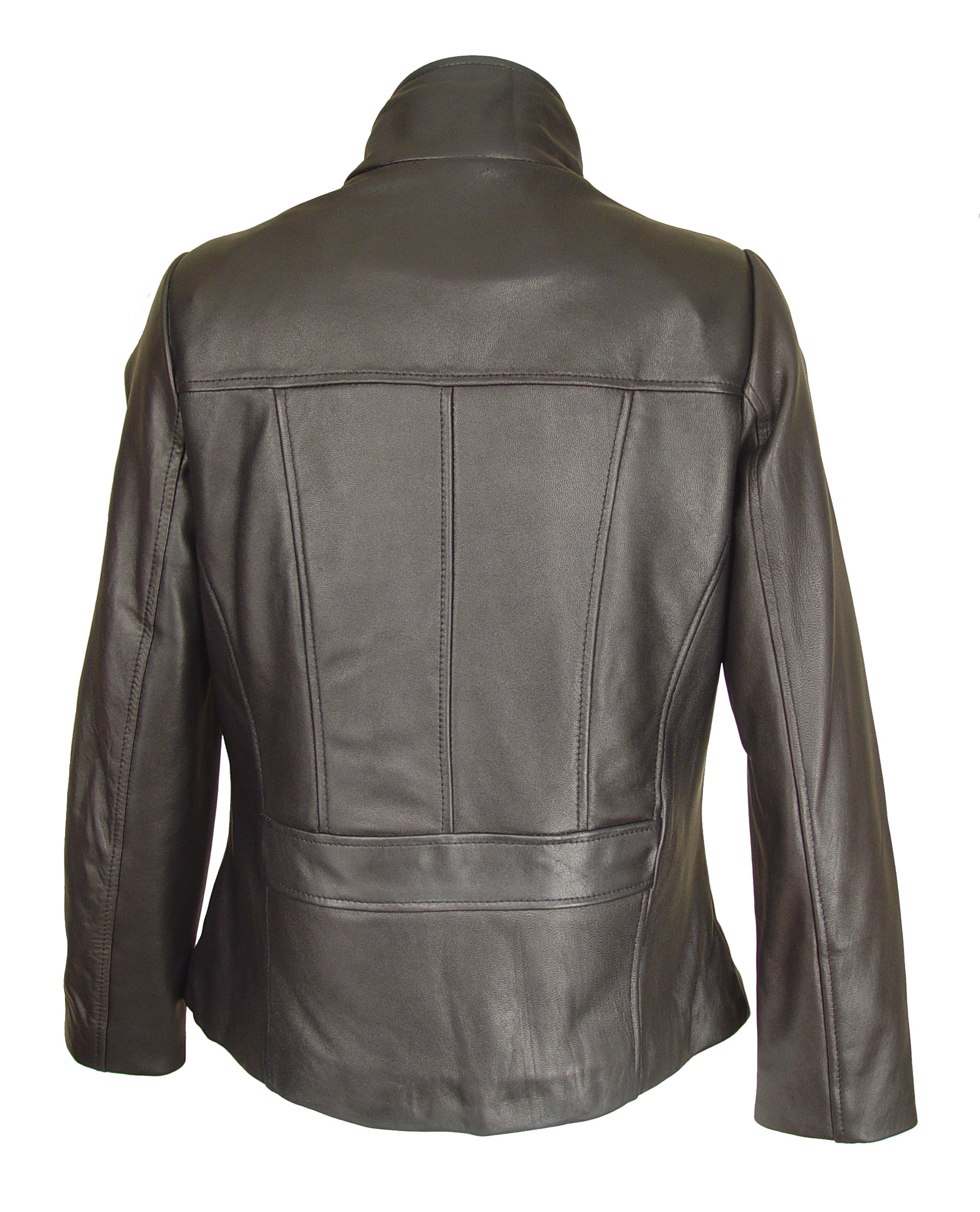 Nettailor 4082 Leather Moto Jackets Womens Genuine Fine Soft Lamb by Paccilo (Image #5)
