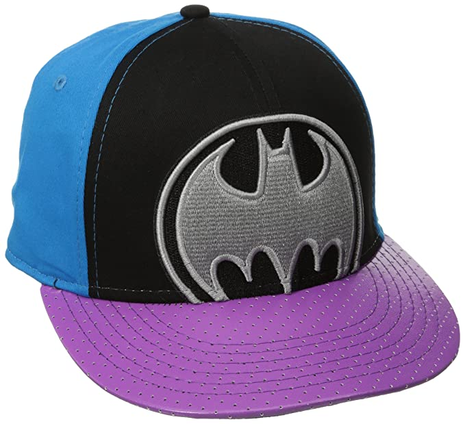 9d015792307 DC Comics Men s Batman Flat Brim Hat