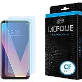 LG V30: Casefit Screen Protector (2 Pack) DIEFOLIE – Made in Germany, Cristal Líquido Sellado con Tecnología SiO2 Antibacteriana, Antiburbujas, Antichoque y Resistente a los Arañazos, Auto-reparable (2. Casefit)