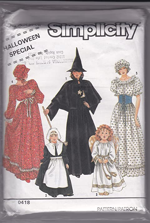 Amazon.com: Simplicity 0418 Sewing Pattern for Misses 6-20, Prairie ...