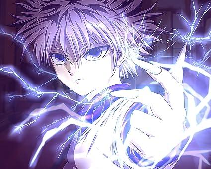 Amazon Hunter X Hunter Poster Anime Neferpitou Gon Killua Fight