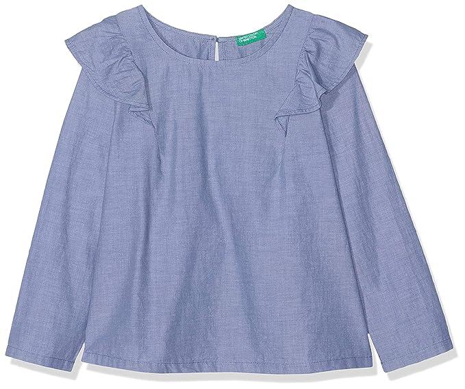 f3884bc55 United Colors of Benetton Blouse Blusa para Niñas  Amazon.es  Ropa y  accesorios