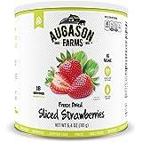 Augason Farms Sliced Strawberries 6.4 oz #10 Can