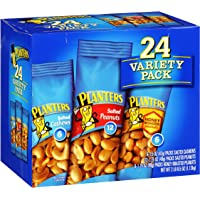 24-Pack Planters Peanuts & Cashews Variety Pack (2 Lb 8.5Oz.)