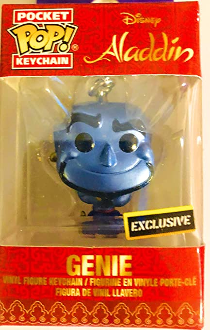 Amazon.com: Funko Pocket Pop! Llavero exclusivo de Aladdin ...