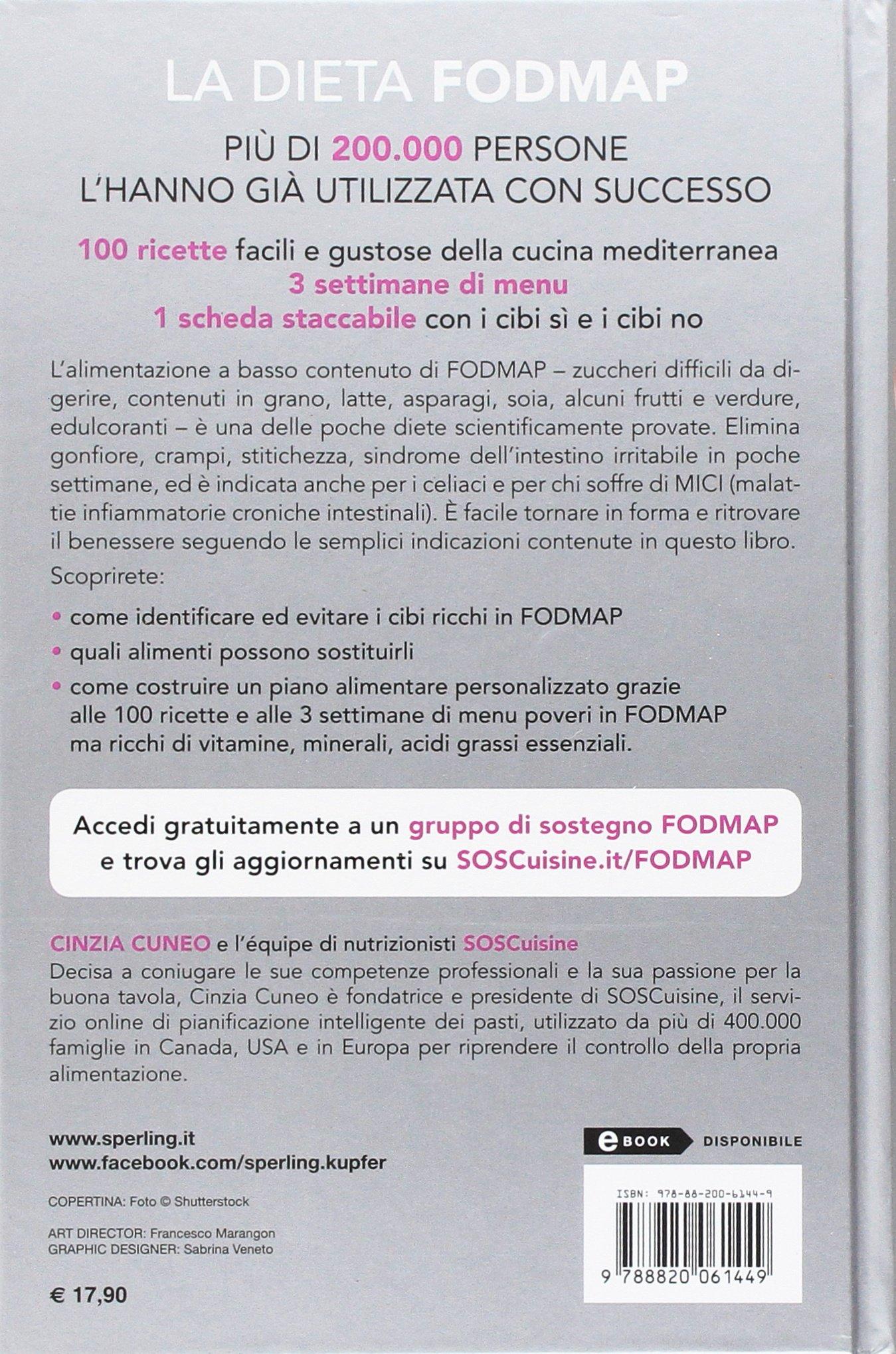 La Dieta Fodmap Cinzia Cuneo 9788820061449 Amazon Com Books