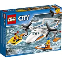 141-Pc LEGO City Coast Guard Sea Rescue Plane Building Kit
