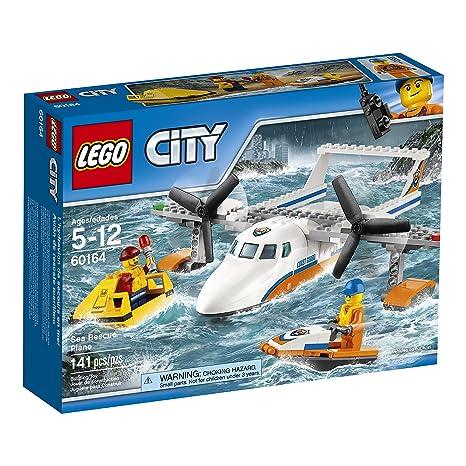 Amazon Lego City Coast Guard Sea Rescue Plane 60164 Building