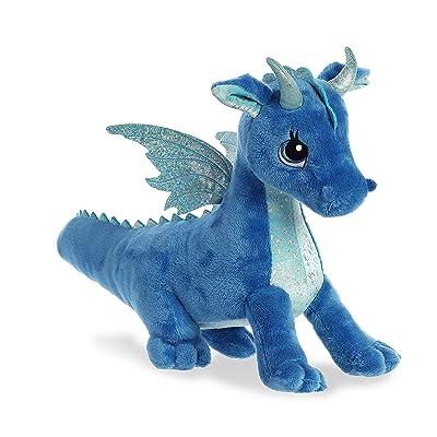 """Aurora - Sparkle Tales - 12"""" Indigo Dragon: Toys & Games"""