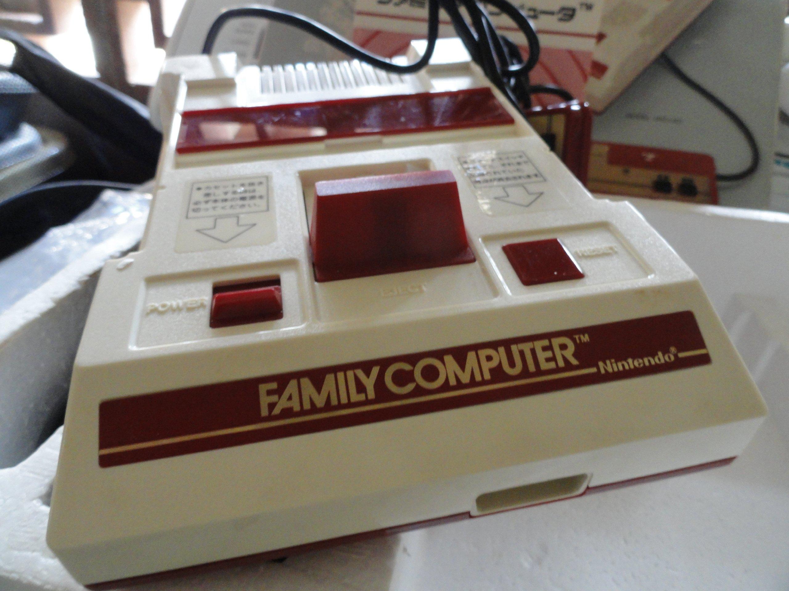 Nintendo Famicom (Family Computer System), Original 1983 Japanese Console by Nintendo (Image #8)
