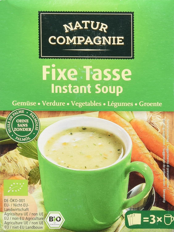 Natur Compagnie Sopa Instantánea Verduras Bio - 54 gr: Amazon.es: Alimentación y bebidas