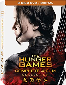 The Hunger Games: Complete 4 Film Collection on DVD