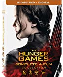 The Hunger Games: Complete 4 Film Collection [DVD + Digital]