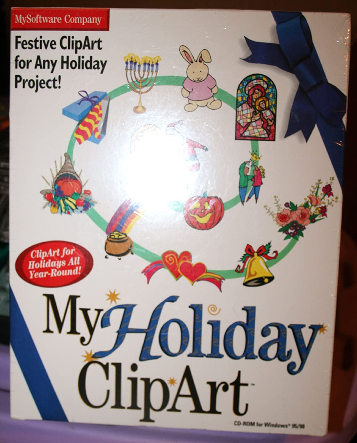 Amazon My Holiday Mailing Labels Clipart Bundle