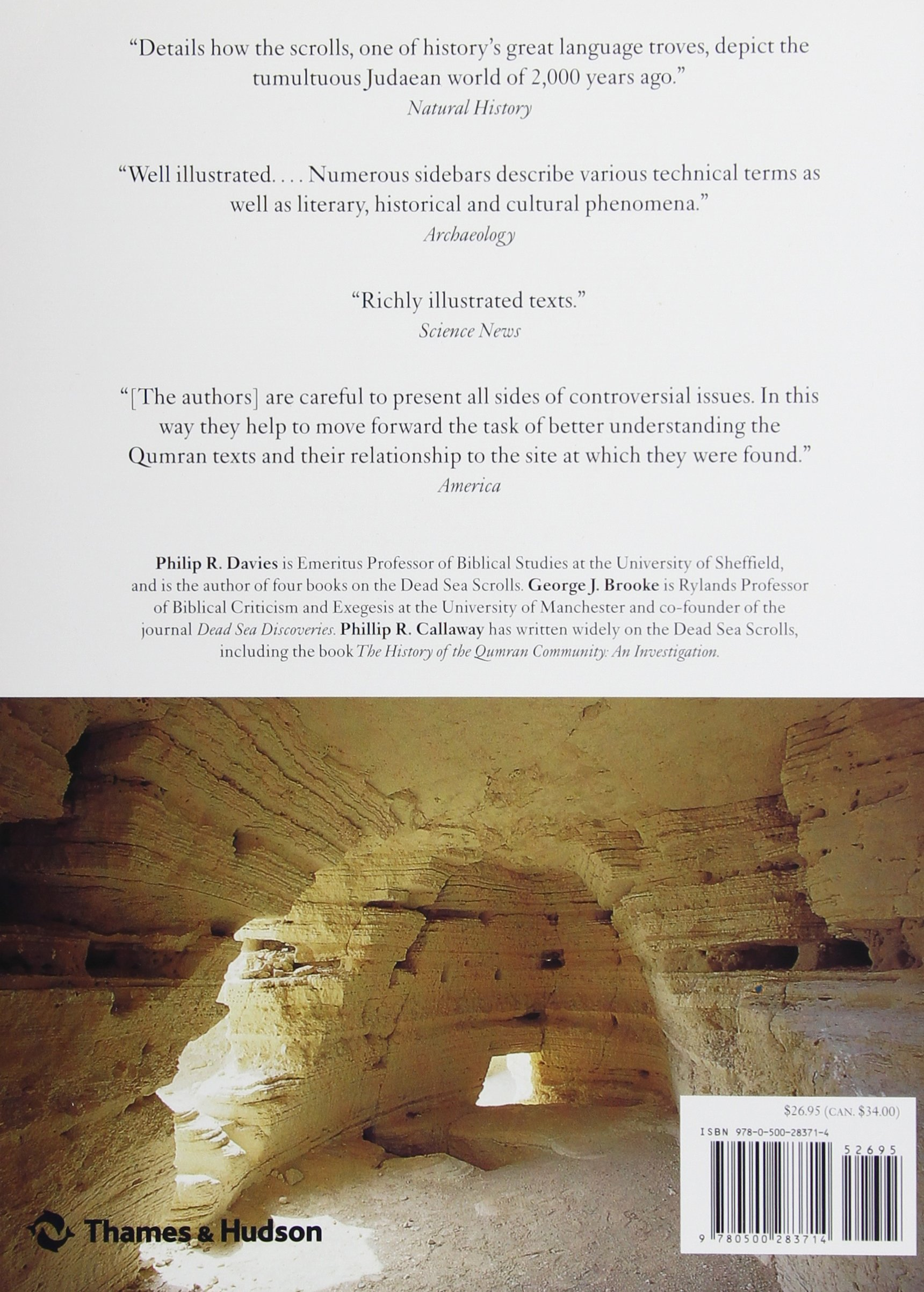 The complete world of the dead sea scrolls philip r davies george the complete world of the dead sea scrolls philip r davies george j brooke phillip r callaway 9780500283714 amazon books fandeluxe Image collections