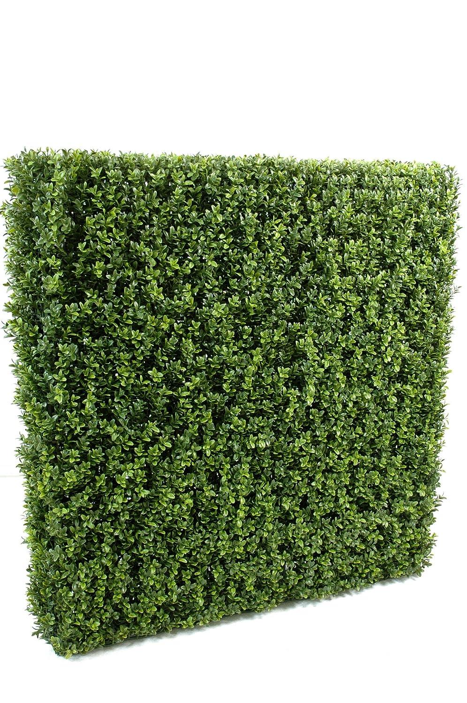 Den 10293-71 Hecke New, Buchsbaum, Metall, Grün, grün, 185 cm
