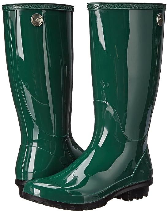 6981f3f4080 UGG Women's Shaye Rain Boot, Pine, 11 B US: Amazon.co.uk: Shoes & Bags