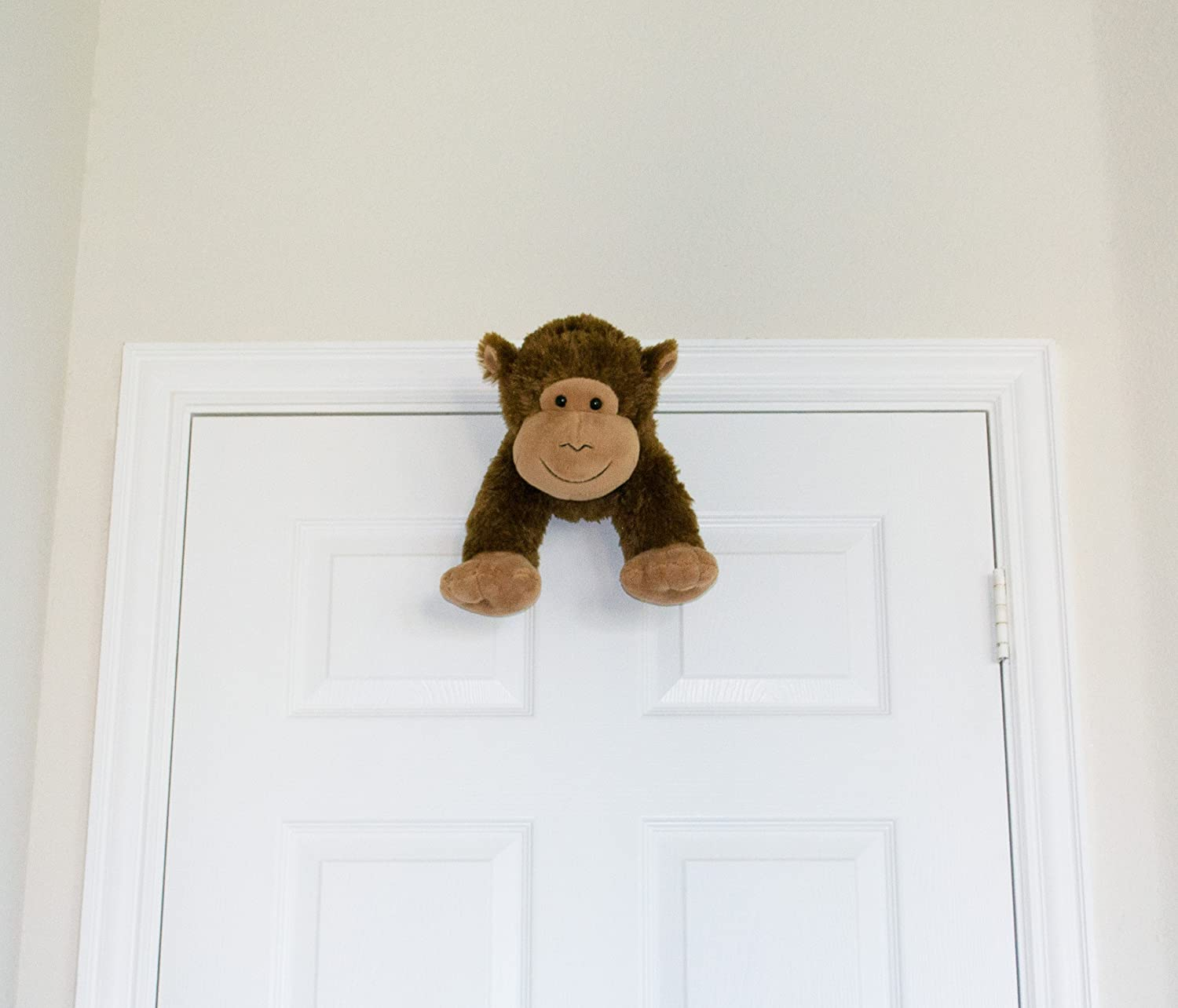 Amazon Com Mydoorfriends Plush Animal Door Stop Brown Monkey Baby