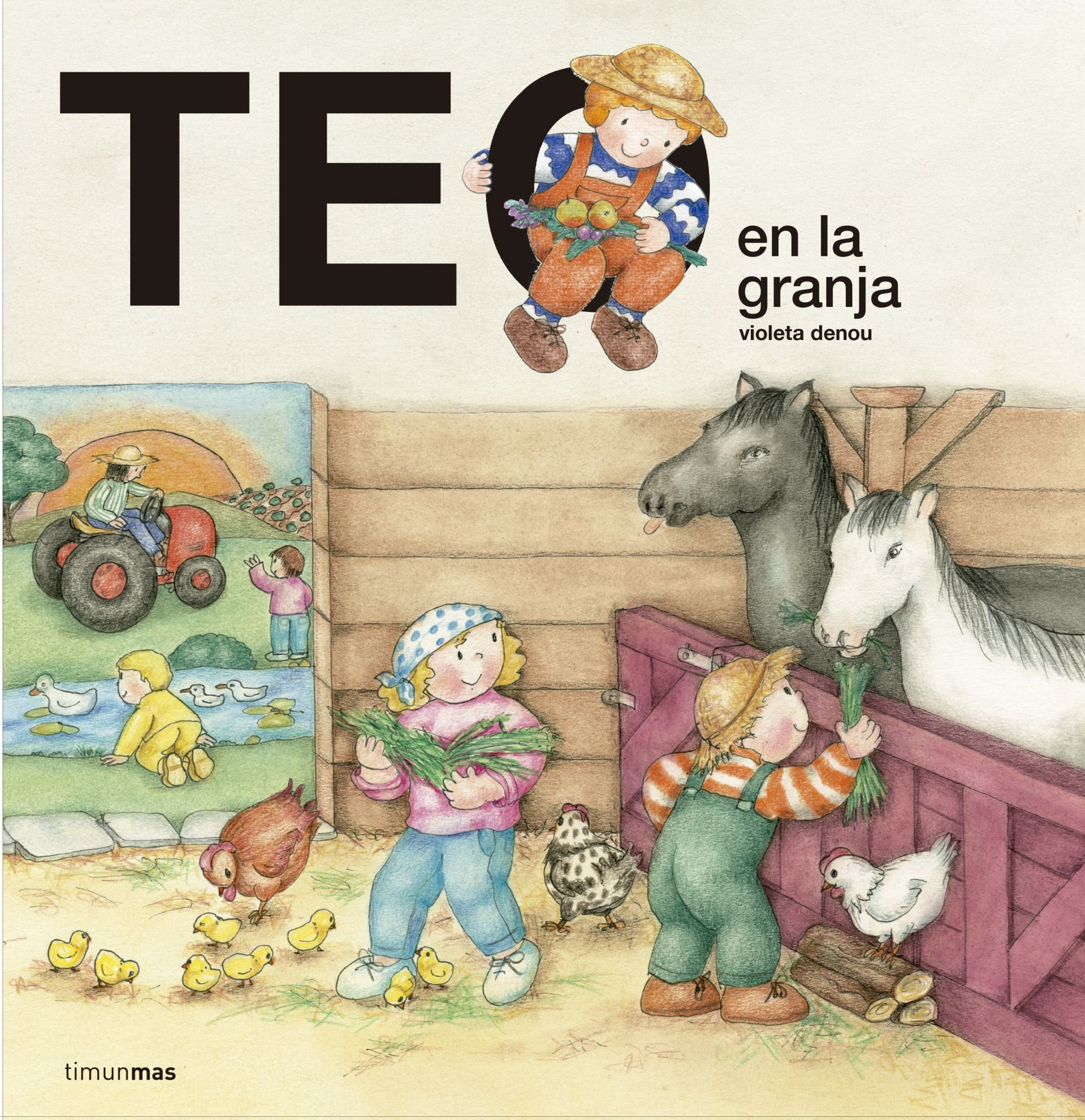 Teo en la granja (Spanish) Hardcover – June 1, 2016