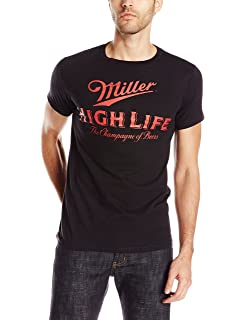 Hybrid Mens Miller High Life Short Sleeve T-Shirt