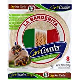"La Banderita® Carb Counter / Whole Wheat Flour Tortillas | 8"" Size | 8 Count Each Pack | 4 Pack Case // Taste the…"