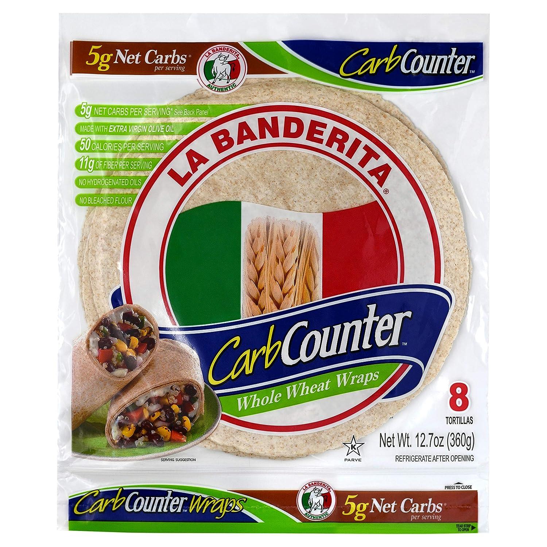La Banderita® Carb Counter Whole Wheat   8