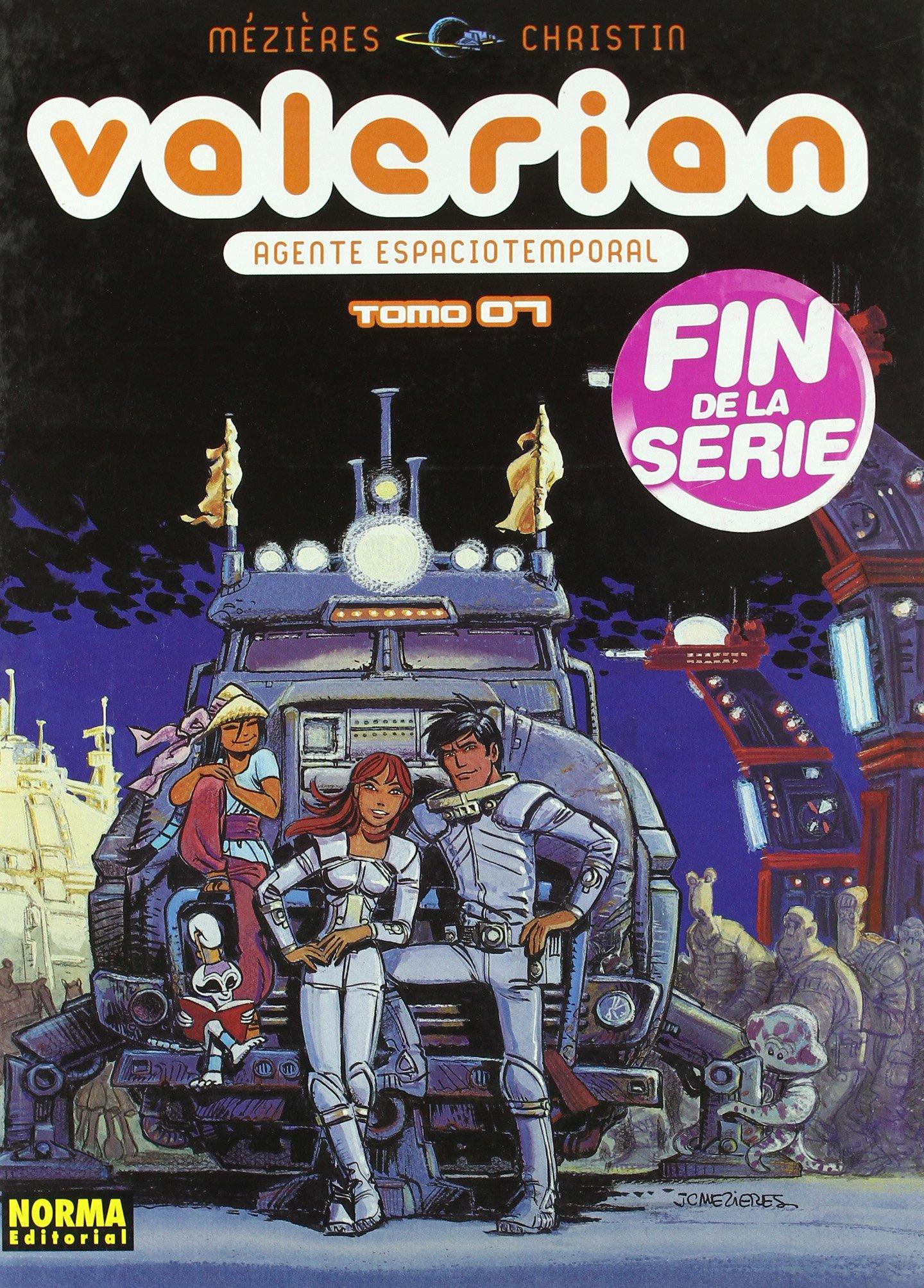 Download Valerian 7 Agente espacio temporal / Space time agent (Spanish Edition) pdf epub