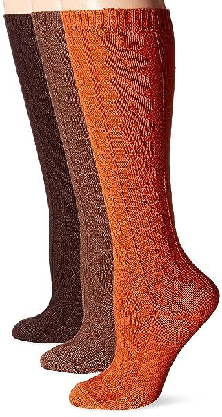 5f9528bf374 Muk Luks Women s Microfiber Knee High Socks