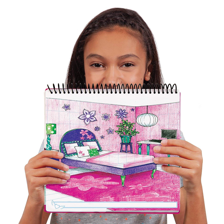Assorted 11510 Fashion Angels Interior Design Sketch Portfolio