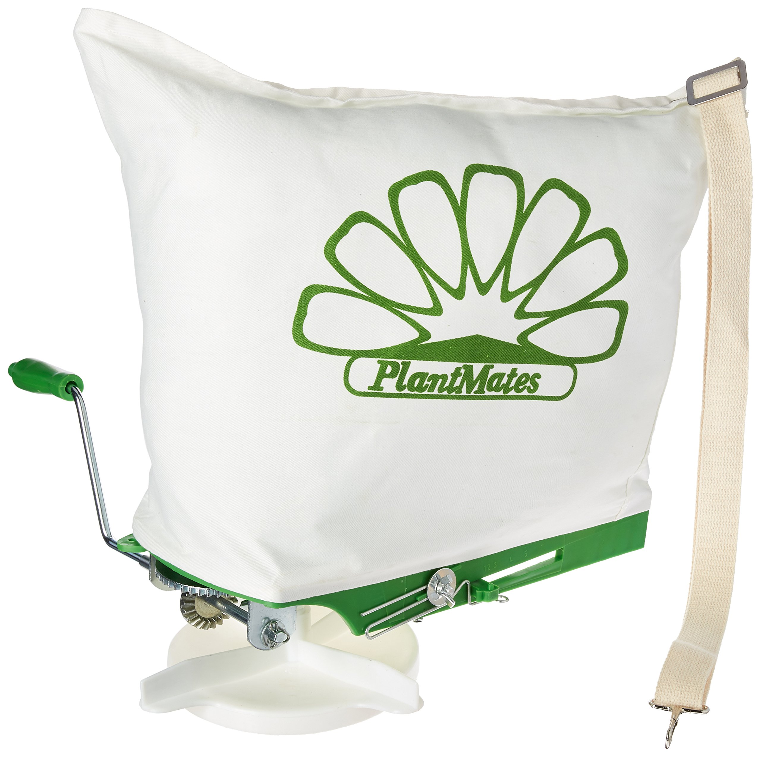 Plantmates 76300 25-Capacity Broadcast Spreader With Canvas Bag