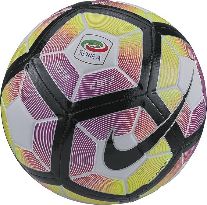 NIKE Strike-Serie A Balón, Unisex Adulto, Blanco (Blanco/Purple ...