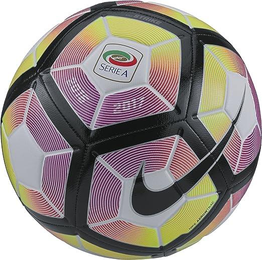 37 opinioni per Nike strike-SERIE A Pallone Unisex, Bianco, 3