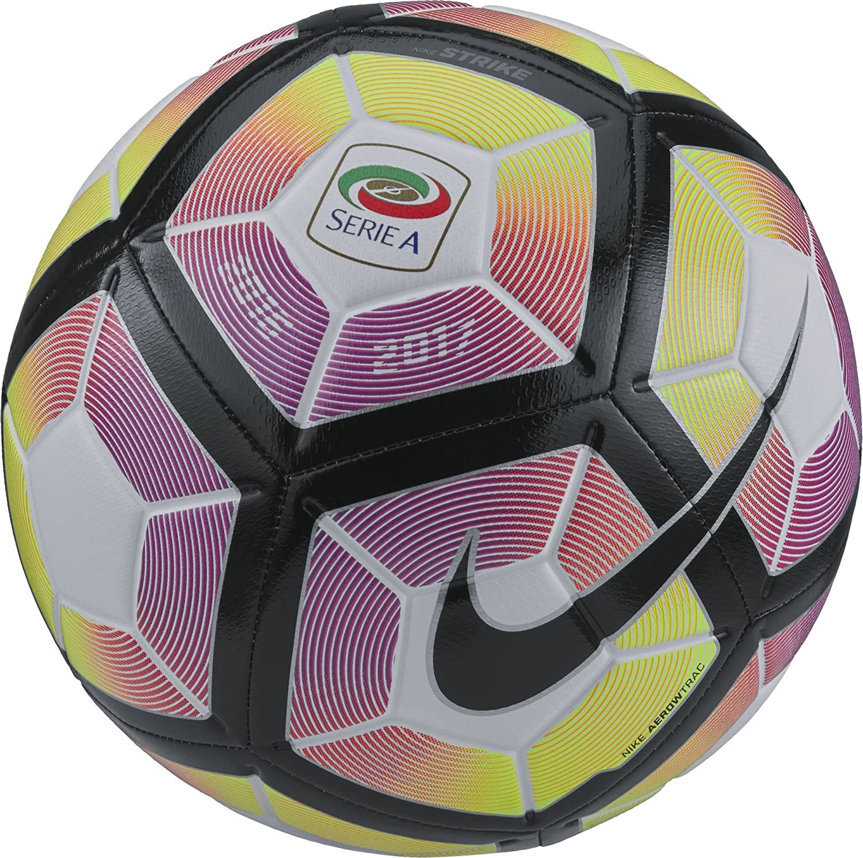 Nike Strike-Serie A Balón, Unisex Adulto, (Blanco/Purple/Negro), 4 ...