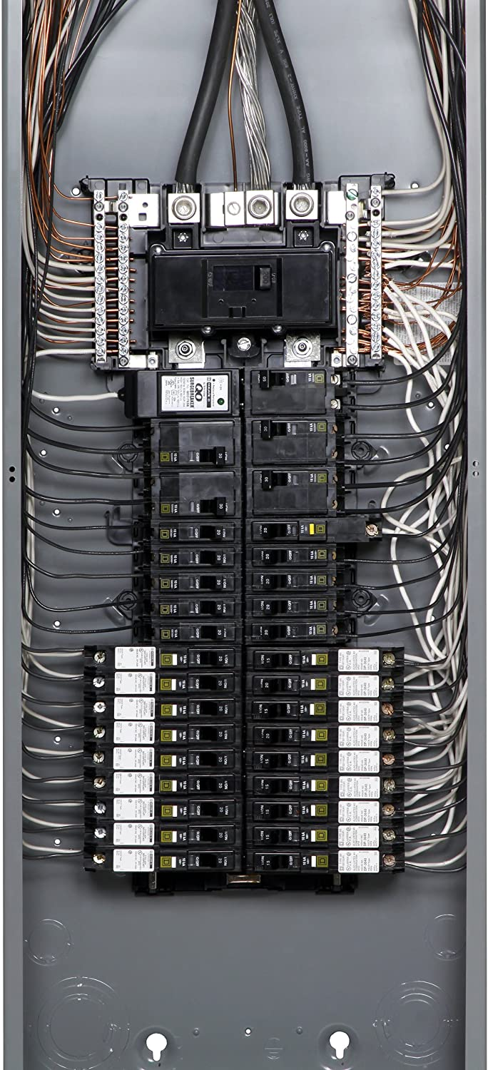 91%2BVybUsSXL._SL1500_ square d by schneider electric qo142m200p 200 amp 42 space 42 square d panel wiring diagram at bakdesigns.co