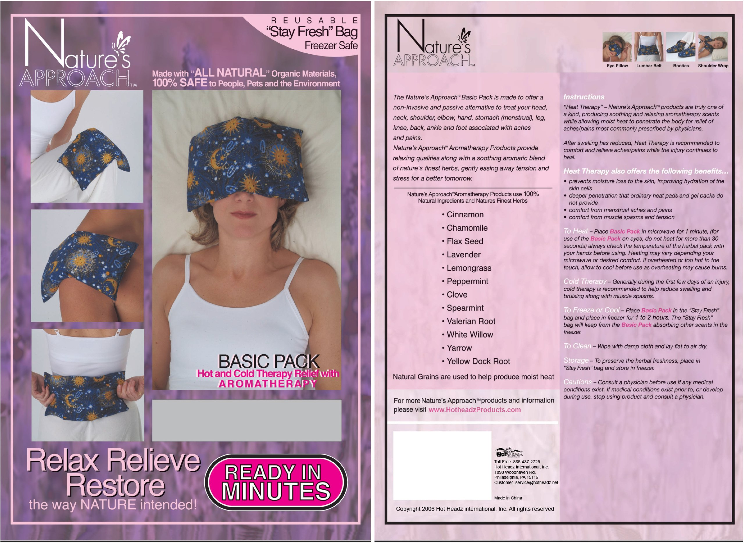 Nature's Approach Aromatherapy Basic Herb Pack, Angel by Nature's Approach (Image #3)