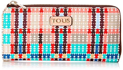 Tous Billetera M. Tartan Bears Rosa-Multi, Monedero para ...