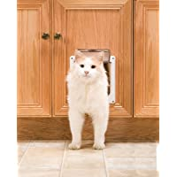 PetSafe Interior 2-Way Locking Cat Door (White)