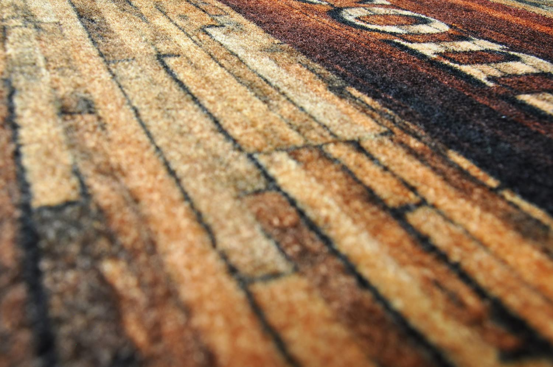felpudos Entrada casa felpudos Originales Bienvenue alfombras casa Deco-Mat Felpudos Exterior 40x60 cm Alfombrilla Antideslizante Alfombrilla Moderna