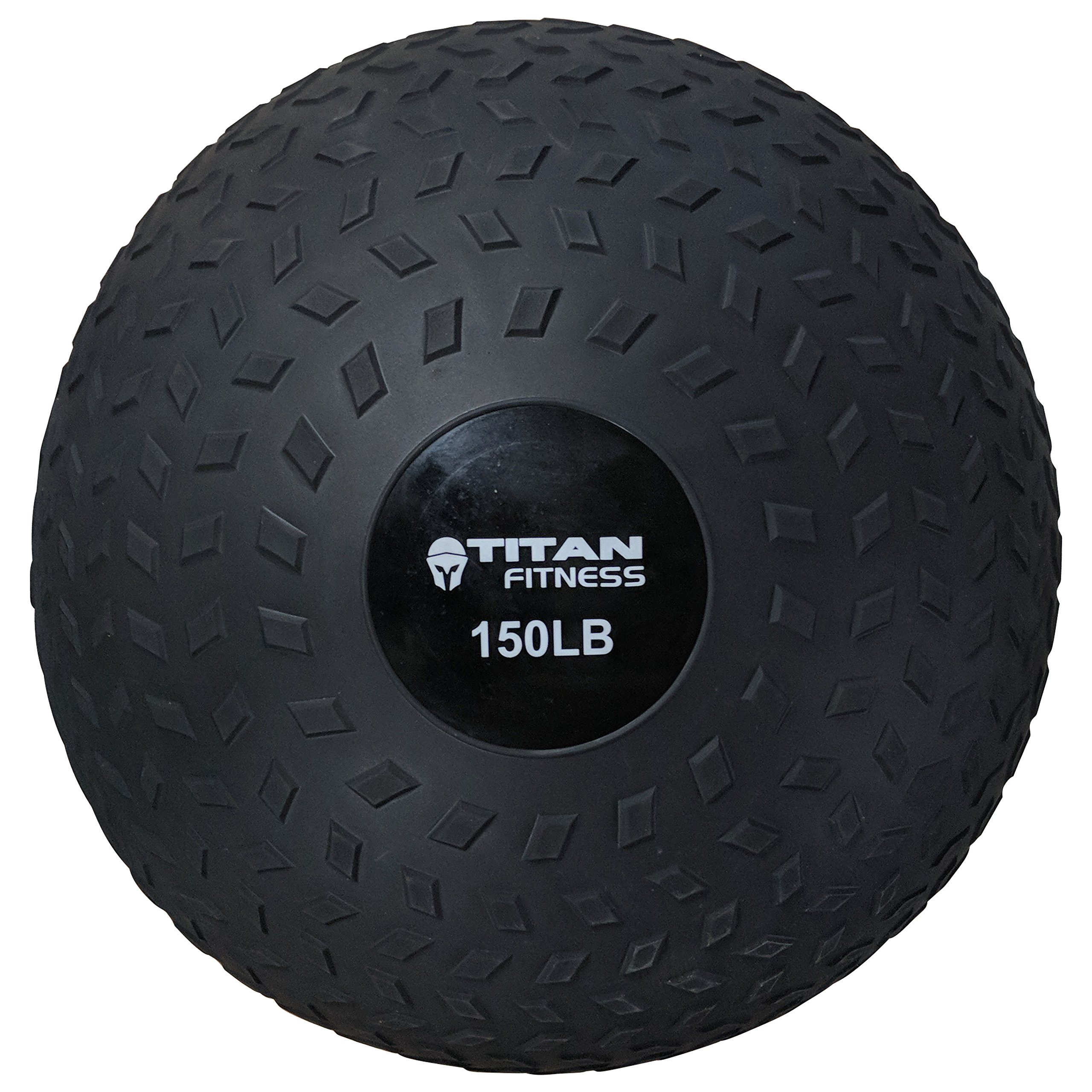 Titan 80-150 LB Slam Spike Ball Rubber Exercise Weight Workout by TITAN FITNESS