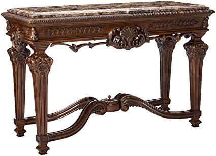 signature designs furniture worthy antique color. Ashley Furniture Signature Design - Casa Mollino Console Sofa Table Traditional Styling With Ornate Accents Designs Worthy Antique Color