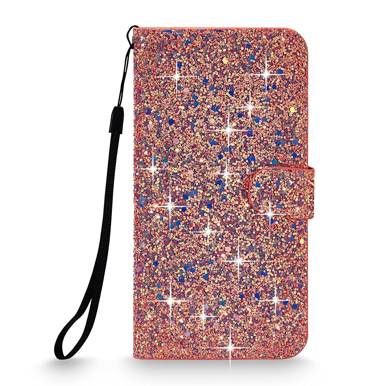 iPhone Cellularvilla Glitter Leather Protective Image 2