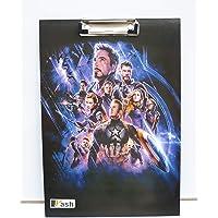 Yash Avangers Superhero Premium Quality Clipboard Exam Pad/Exam Board/Examination Pad/Writing Pad/Stationery - Size: 9.5 x 13.5 (Multi-Color)